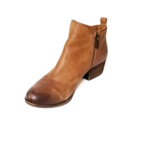 Lucky Brand women's Basel Bootie, Size 7 - Brown